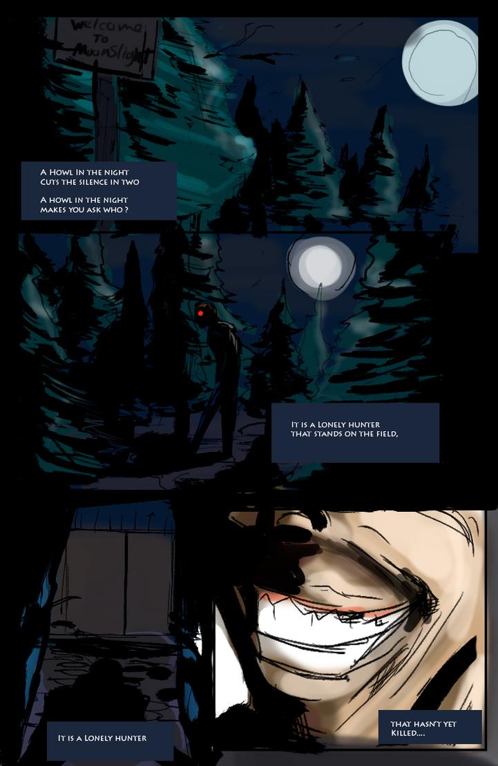 Black Moon Page 1 by ShadowClawZ