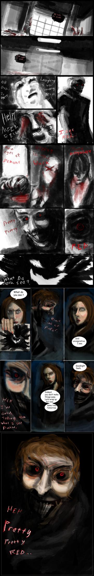 Dark's Psyche *mini comic* by ShadowClawZ