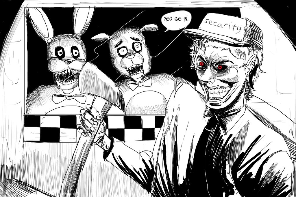 Dark vs FNAF by ShadowClawZ