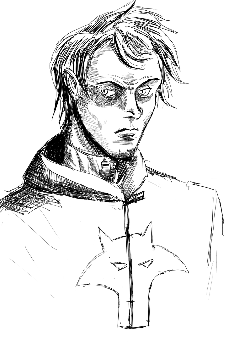 Wolf/Collin Wright unmasked  *sketch* by ShadowClawZ