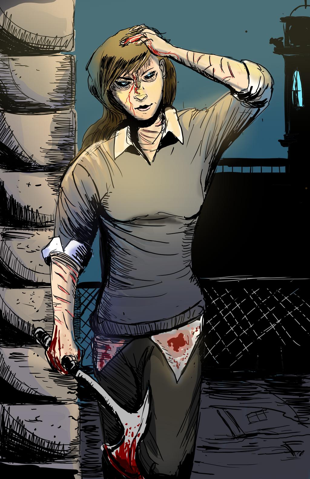 Lethal Lila *contest entry* by ShadowClawZ