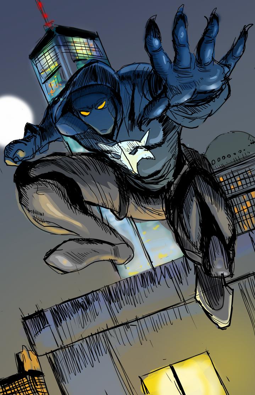 The Wolf Illustration 3 by ShadowClawZ