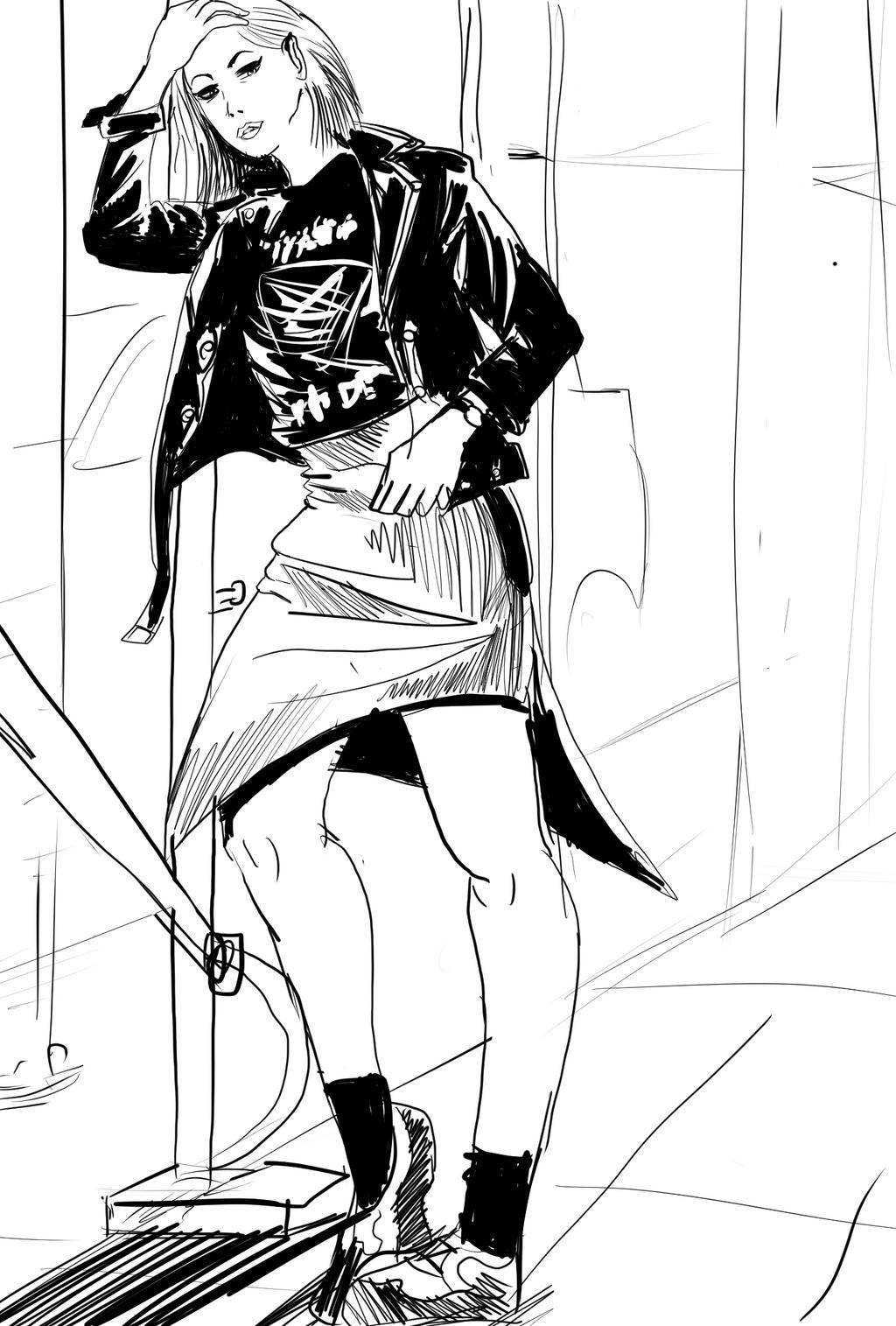 Sidewalk Punkstyle by ShadowClawZ