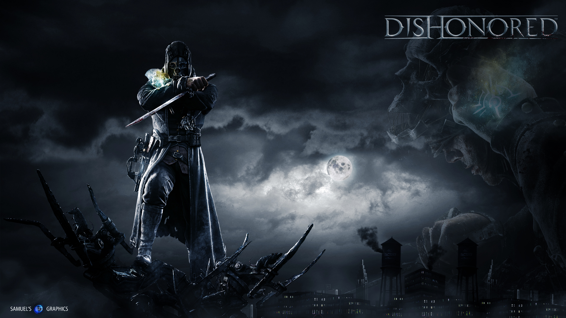 Dishonored Hd Wallpaper By Samuels Graphics On Deviantart
