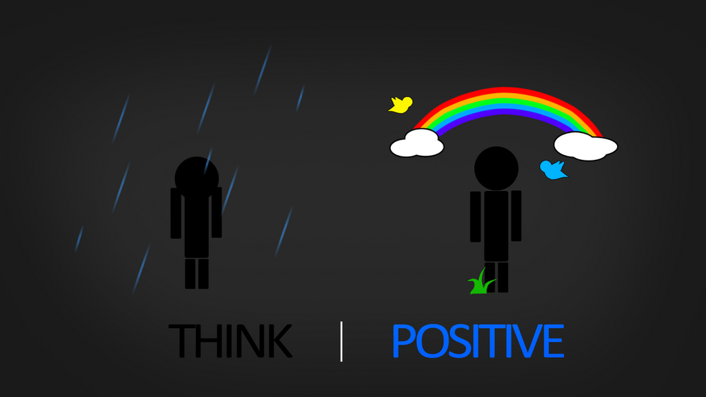 Think Positive HD Wallpaper by Samuels-Graphics on DeviantArt