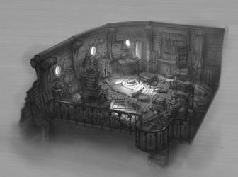 Interior Design FZD School demo by ThomasBrissot