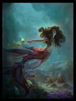 Mermaid by ThomasBrissot