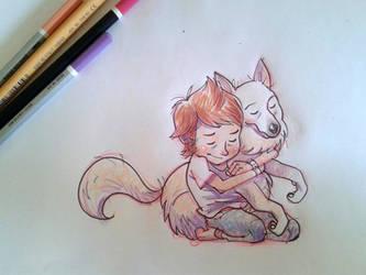 Pet Hug by JaimePosadas