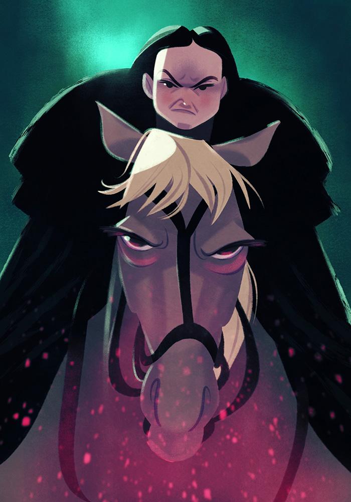 Lady Mormont by JaimePosadas