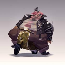Motor Pig