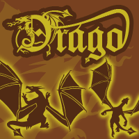 Drago the Dragon Font by yourenemy