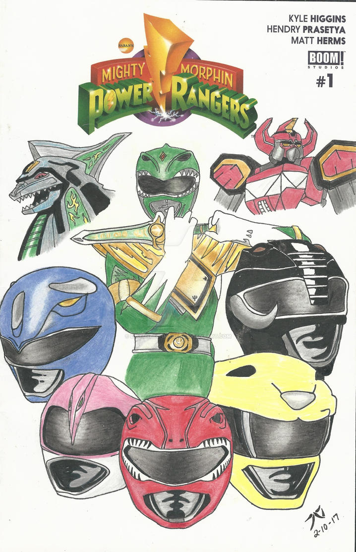 Power Rangers by Disturbed-Images