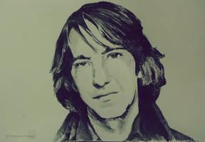 Alan Rickman by KaterinaSonne