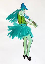 Ink sketch by Ruthygi