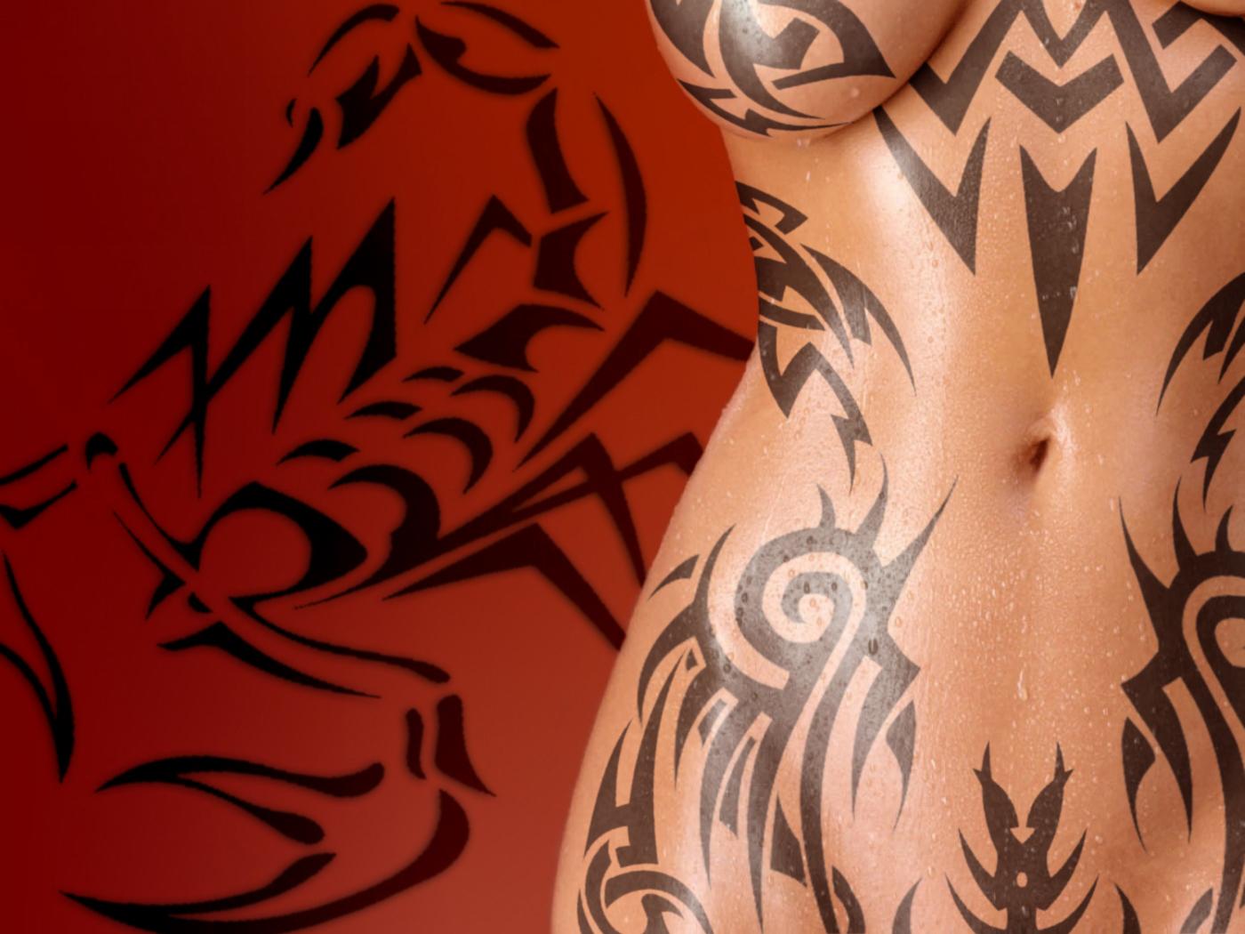 Tatoo Scorpion Girl 2 by DDL999