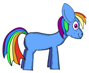 Rainbow Dash Plushie by NightSkythePegasi