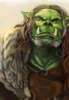 Orc Chieftain by Wulfgnar