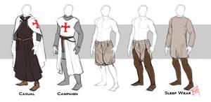 Scarlet Cross: Templar Costume