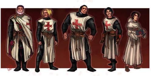 Scarlet Cross: Meet the Templars by Wulfgnar