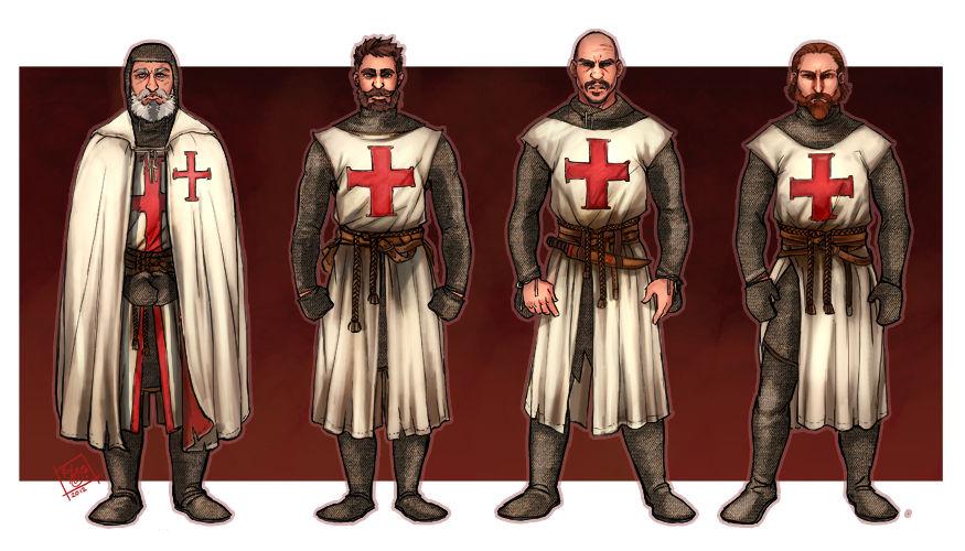 Scarlet Cross: Meet the Templars 2