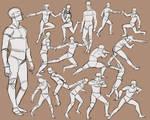 Men practice 1
