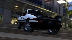 Toyota Sprinter Tureno AE86 by tannerthecat1996