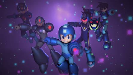 Megaman Forever by tannerthecat1996