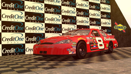 Dale Jr stock car by tannerthecat1996