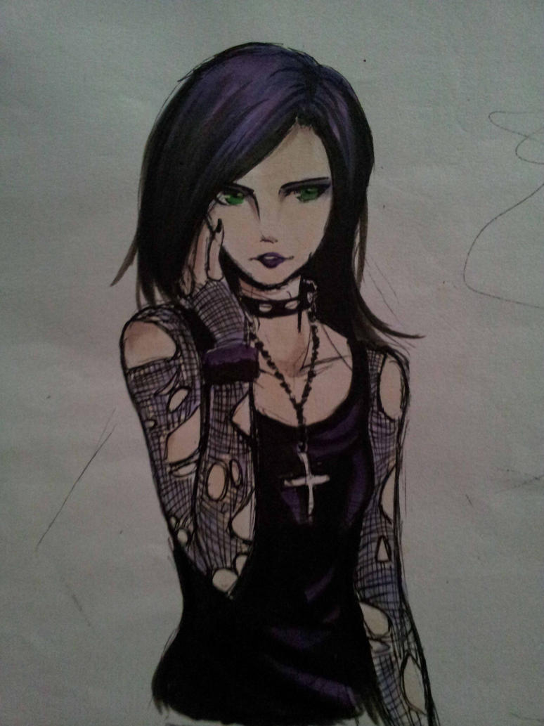 sketch | Pastel goth art, Goth art, Cute art