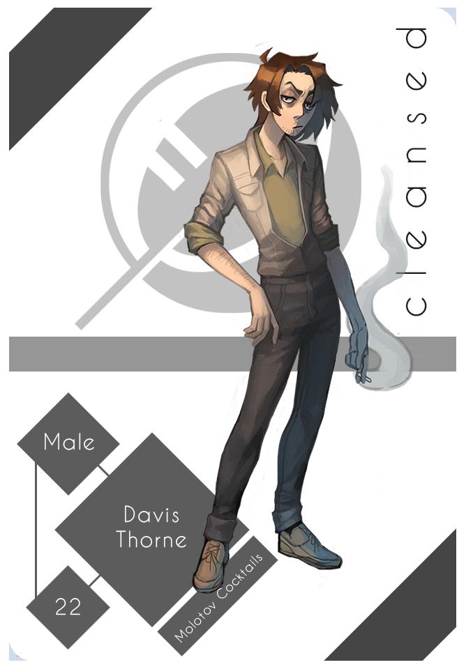 CLEANSED - Davis Thorne by xLunatiCXz