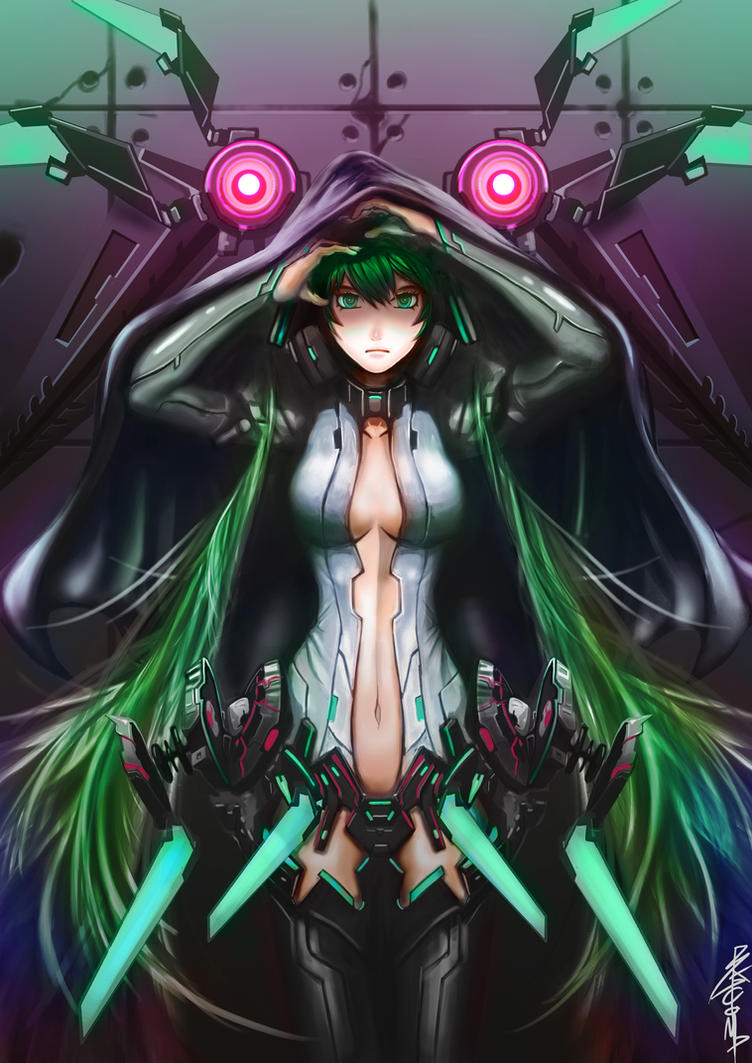 MIKU APPEND:Black Out by BADCOMPZERO