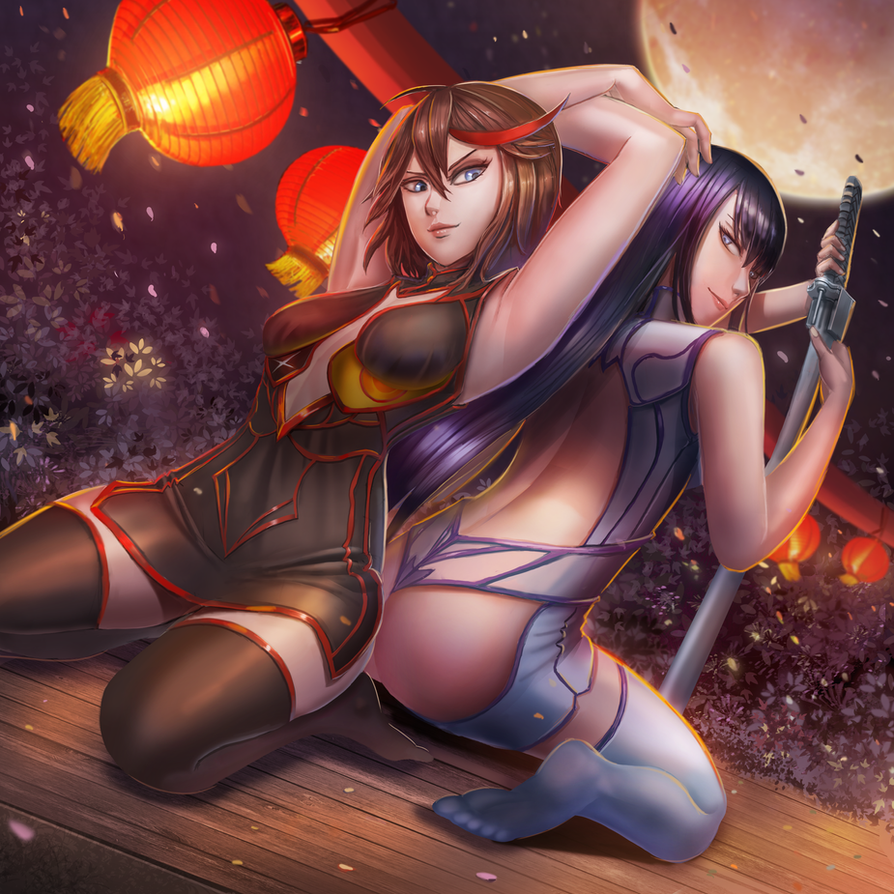 Kill la kill - Chinese new year by BADCOMPZERO
