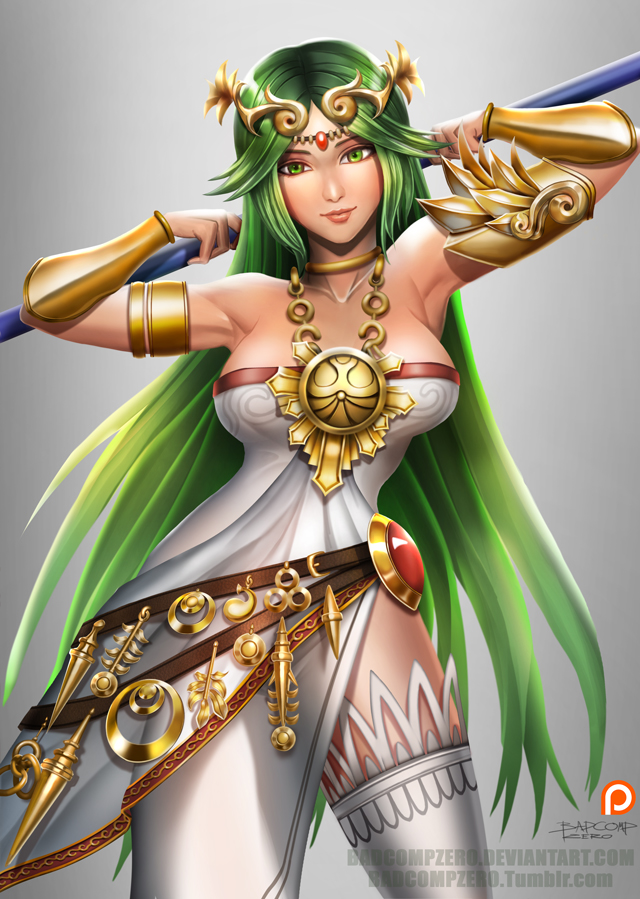 Kid Icarus Anime Medusa