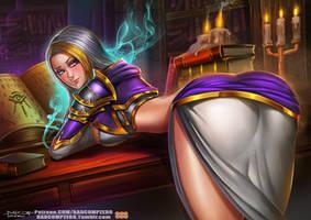 Jaina Proudmoore - Warcraft by BADCOMPZERO
