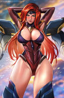 Gun Goddess MF by BADCOMPZERO
