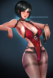 Ada Wong - RE2 by BADCOMPZERO