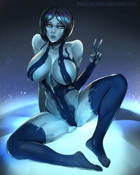 Cortana by BADCOMPZERO