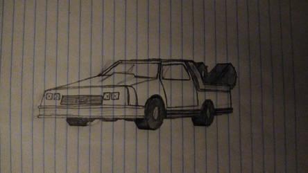 Dr. Emmett L. Brown's DeLorean DMC-12 (attempt 1)