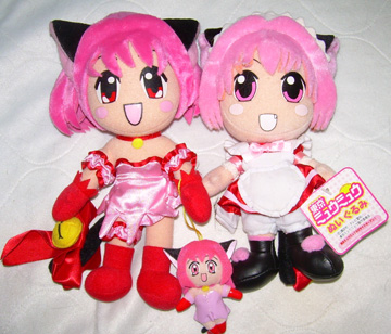 Tokyo Mew Mew Plush by icemars007