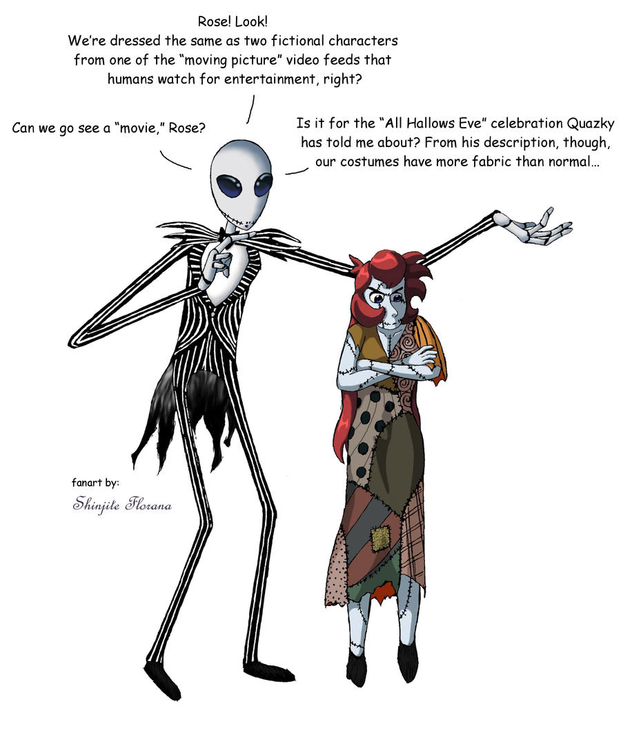 We Could Live Like Jack And Sally If We Want By