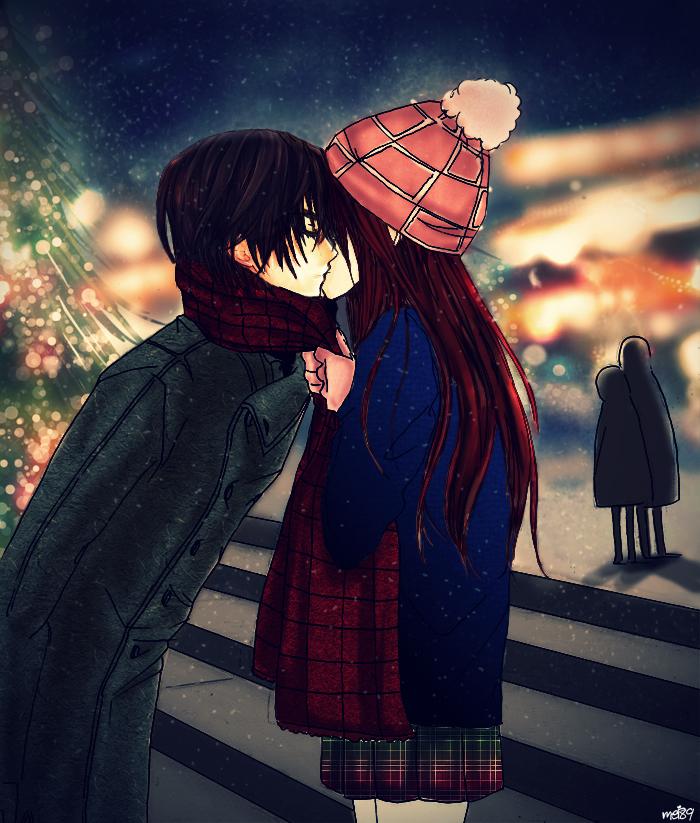 Christmas Kiss - KanameANDYuki by SuNsKyle on DeviantArt