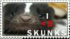 .Skunk lover by Nekochan90