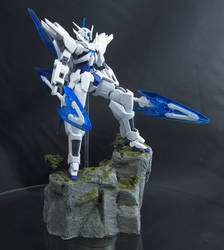 HG Transient Gundam Field 8 Sky Diorama Base by AlmightyElemento
