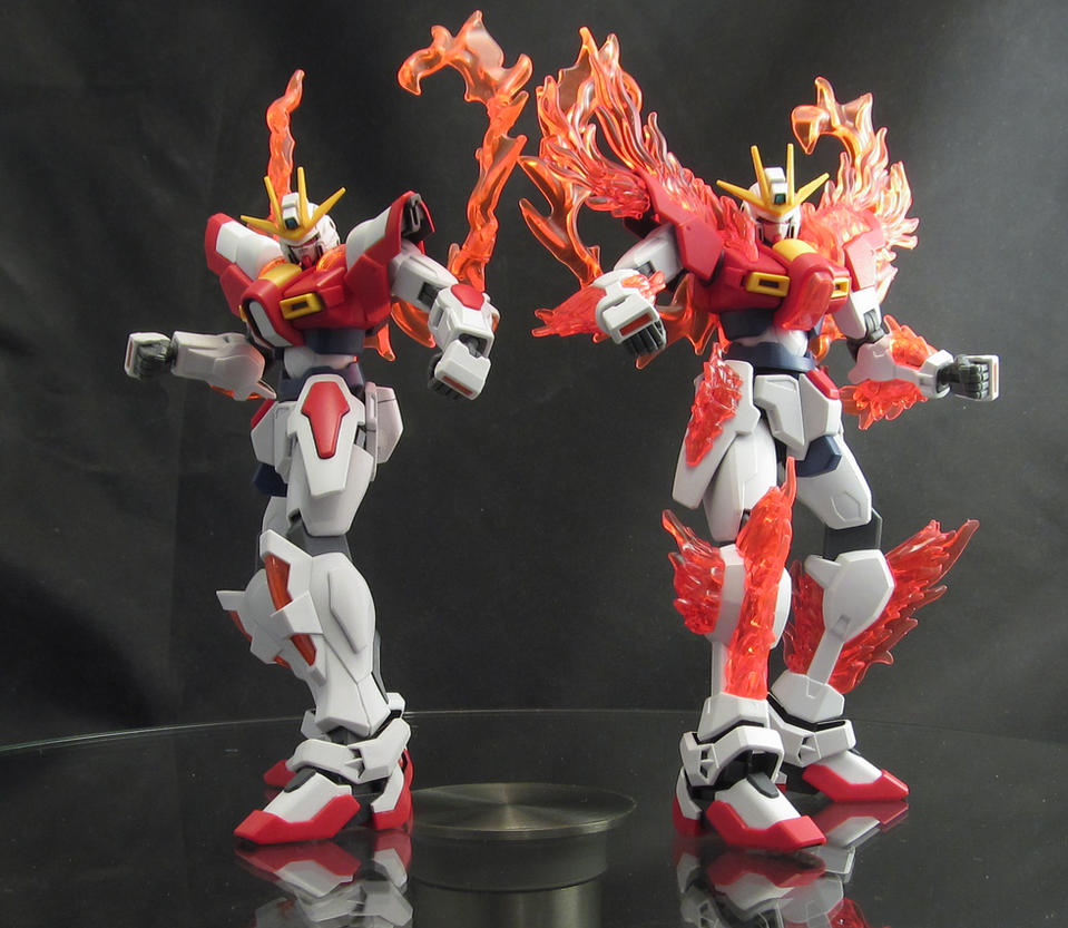 Try Burning Gundam Im You But Orangier By Almightyelemento On
