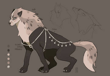 Moonlit Silver - AUCTION (open) by coyotestars