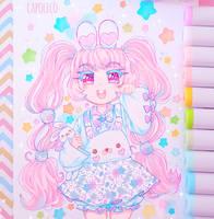 Bunny bun bun by Capoleco-Art