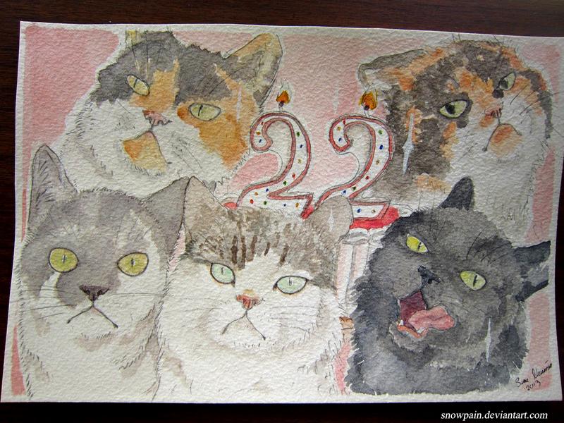 Grumpy Birthday ! by SnowPain