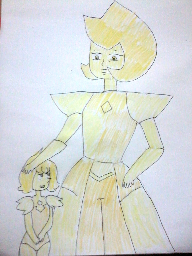I just really want to draw Yellow Diamond by MissKIAngela-101