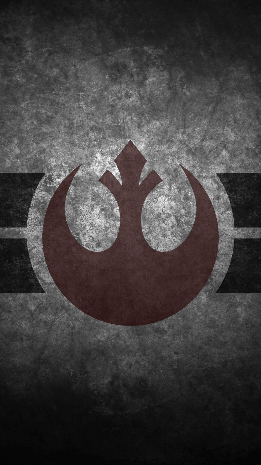 Rebel Insignia Symbol Cellphone Wallpaper By Swmand4 On Star Wars Rebels Logo