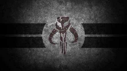 Mandalorian Skull Desktop Wallpaper by swmand4
